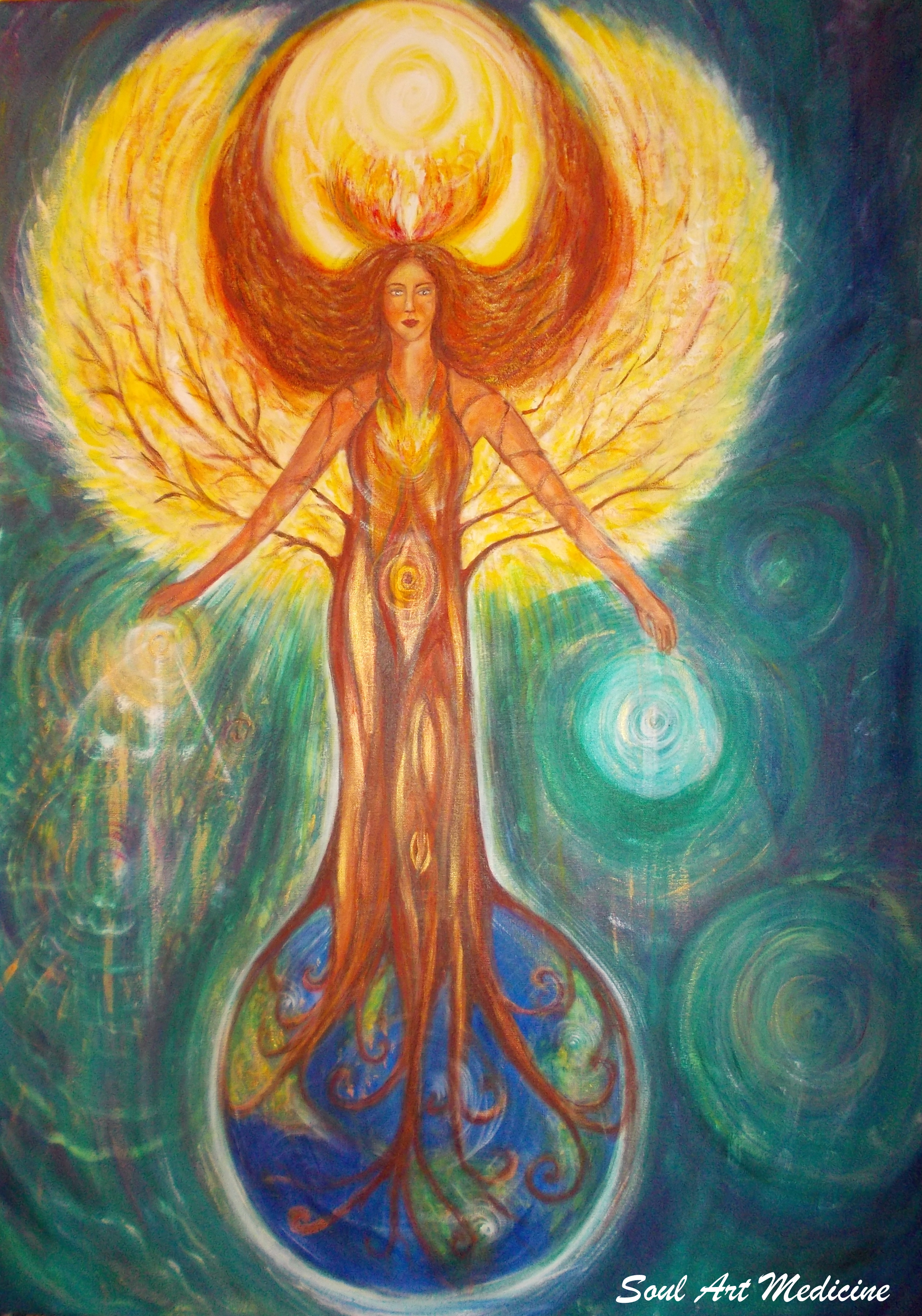 Healing Earth Tarot A Journey In Self Discovery By: A Healing Story: How Nature And Shamanism Is Making Me