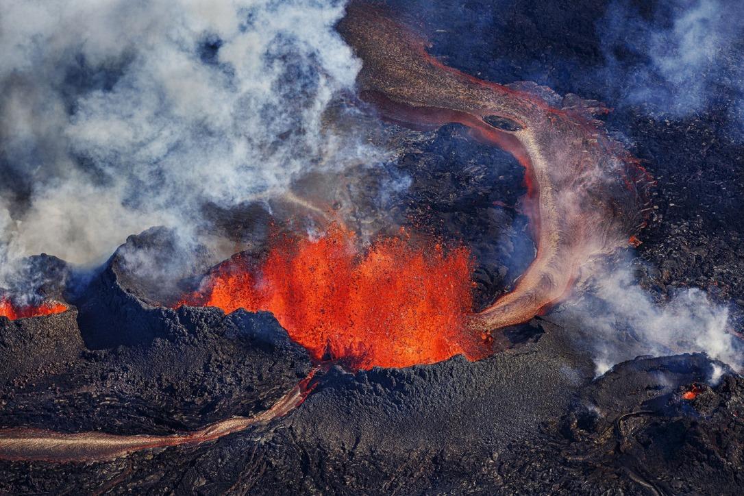 Iceland Volcano Lava Flow 04
